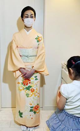 入学式 訪問着 着付け 京都