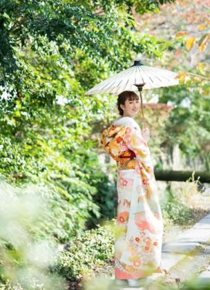成人式前撮り 京都市内 ロケ撮影