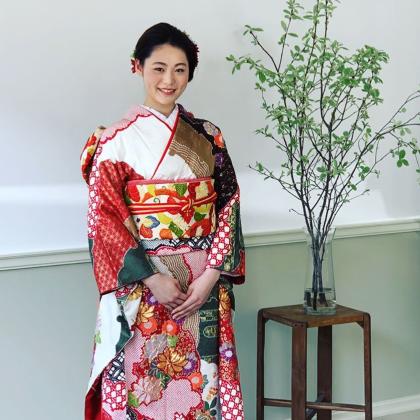 成人式前撮り 京都 振袖着付け 和装ヘア