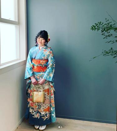 2020年成人式前撮り 京都 スタジオ撮影