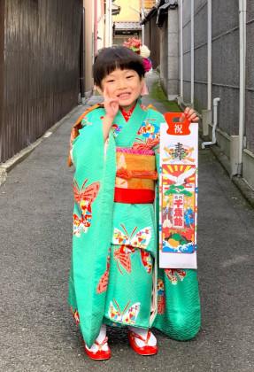 七五三 子供着物 着付け 京都