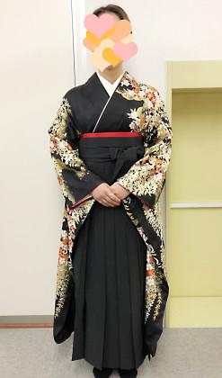 袴スタイル 着付け 和装ヘアセット