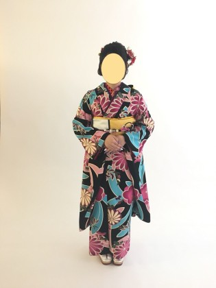 振袖着付け 成人式前撮り 京都