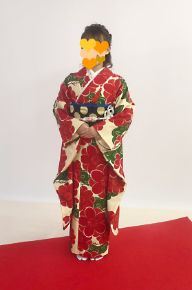 成人式前撮り 京都 振袖着付け