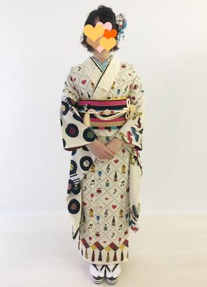 振袖 着付け 京都 成人式前撮り