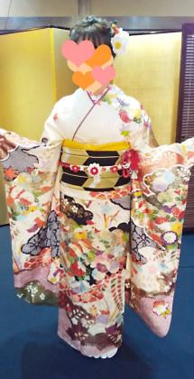 成人式前撮り 振袖 着付け 京都