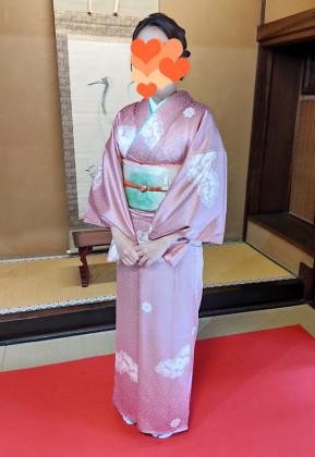訪問着 着付け 京都
