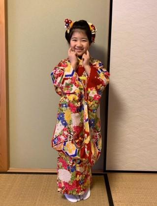 子供 着付け 日本髪