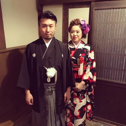 和装婚前撮り 京都 花嫁振袖