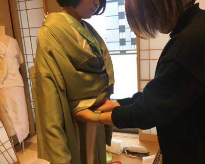 着付け教室 京都 四条烏丸 少人数制 着物着付け