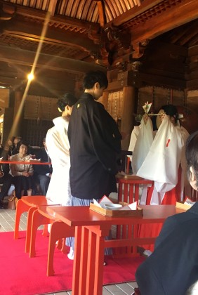 神前式 和装 婚礼