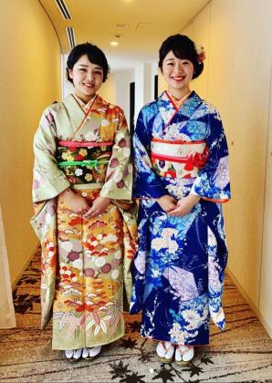 卒業式 振袖 着付け 京都