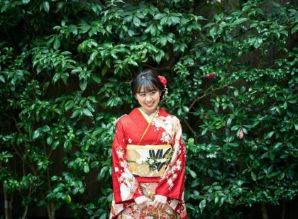 京都 ロケ 成人式前撮り 振袖着付け