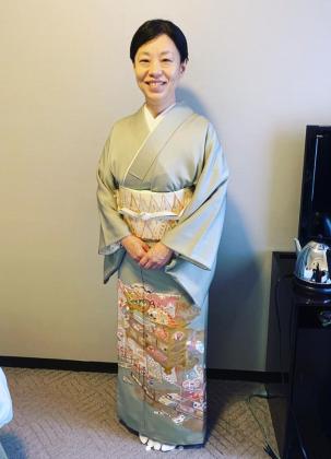 訪問着 出張着付け 京都