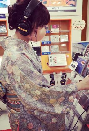 着物女子 着物 お出かけ 京都