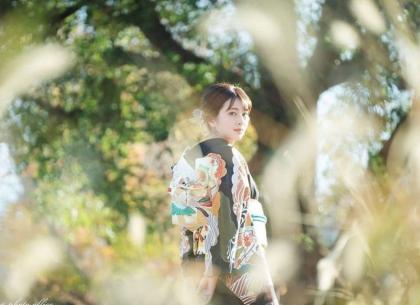 成人式前撮り 振袖着付け 京都市内ロケ